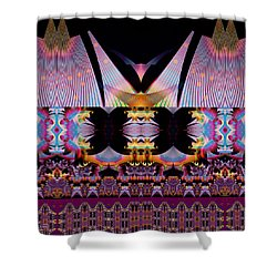Bali Hai Shower Curtain by Jim Pavelle