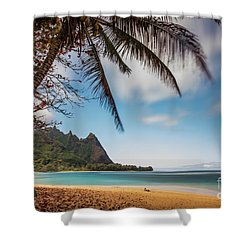 Bali Hai Tunnels Beach Haena Kauai Hawaii Shower Curtain