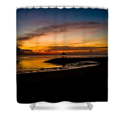 Bali Sunrise I Shower Curtain