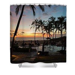 Bali Sunset Shower Curtain