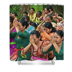 Bali_d323 Shower Curtain by Craig Lovell