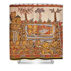 Bali_d530 Shower Curtain by Craig Lovell