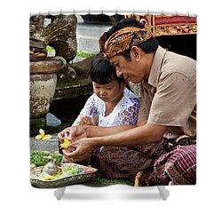 Bali_d796 Shower Curtain