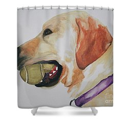 Ball Boy Shower Curtain
