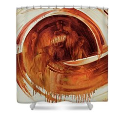 Ball-e-t Shower Curtain