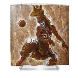 B A L L  . G A M E Shower Curtain
