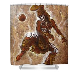 Ball Game Shower Curtain
