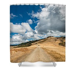 Ball Hills In Summer 3 Shower Curtain