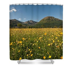 Ballachulish Shower Curtain