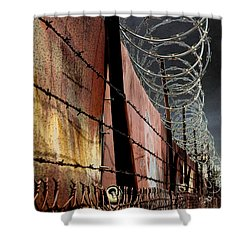 Shower Curtain featuring the photograph Ballard In Seattle by Jeff Burgess
