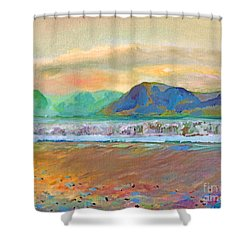 Ballenskelligs Bay Shower Curtain