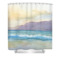 Ballenskelligs Beach Shower Curtain