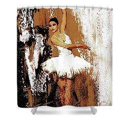 Ballerina Dance 093 Shower Curtain by Gull G