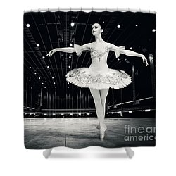 Shower Curtain featuring the photograph Ballerina by Dimitar Hristov