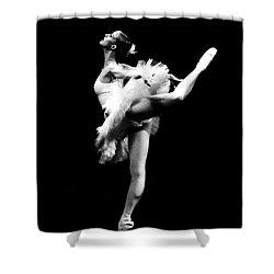 Ballet Dance Shower Curtain by Sumit Mehndiratta