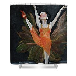 Ballet Dancer 1 Shower Curtain
