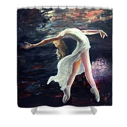 Ballet Dancer 2 Shower Curtain