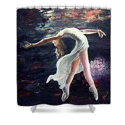 Ballet Dancer 2 Shower Curtain