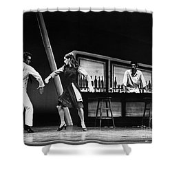Ballet Fancy Free C1970 Shower Curtain by Granger