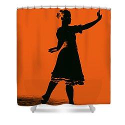 Ballet Girl Shower Curtain