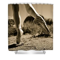 Ballet Pointe Shower Curtain