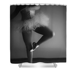 Ballet Slippers Shower Curtain