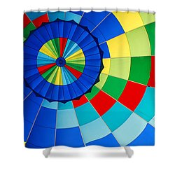 Balloon Fantasy 8 Shower Curtain