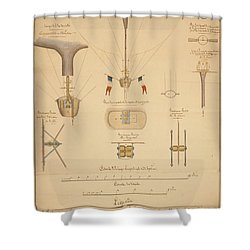 Balloon Patent Shower Curtain