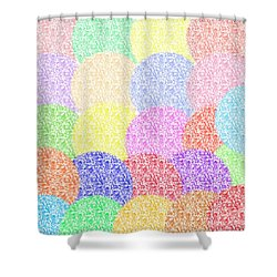 Balloonish Shower Curtain