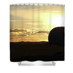 Balloonrise Shower Curtain