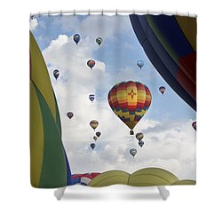 Balloons 17 Shower Curtain