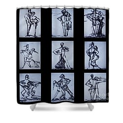 Ballroom Dancing Shower Curtain
