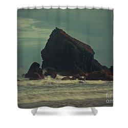 Ballydwane Cove Shower Curtain
