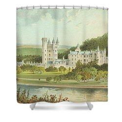 Balmoral Castle, Scotland Shower Curtain