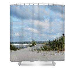 Baltic Sea Shower Curtain by Joachim G Pinkawa