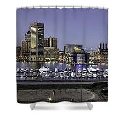 Baltimore Inner Shower Curtain
