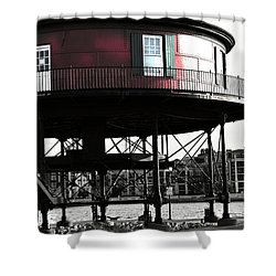 Baltimore Lighthouse Shower Curtain