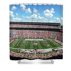 Bama Spell-out Panorama Shower Curtain