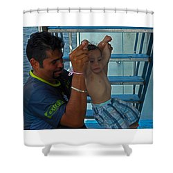 Bambino 2 Shower Curtain