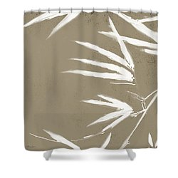 Bambo01 Shower Curtain