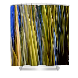Bamboo Flames Shower Curtain