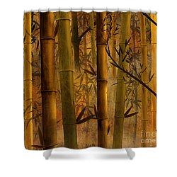 Bamboo Heaven Shower Curtain