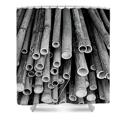 Shower Curtain featuring the photograph Bamboo  by Jingjits Photography