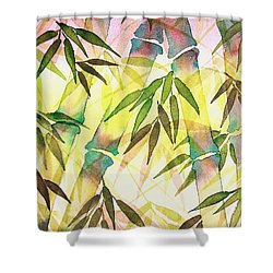 Bamboo Sunrise Shower Curtain