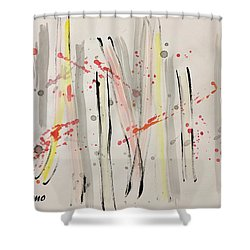 Bamboo2 Shower Curtain