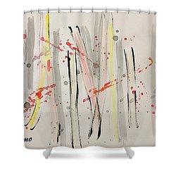 Bamboo2 Shower Curtain
