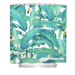 Banana Forest Shower Curtain
