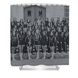 Band After Fire 76 Shower Curtain