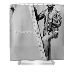 Band Leader Doc Severinson 1974 Shower Curtain by Mountain Dreams