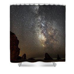 Bandon And Milky Way Shower Curtain
